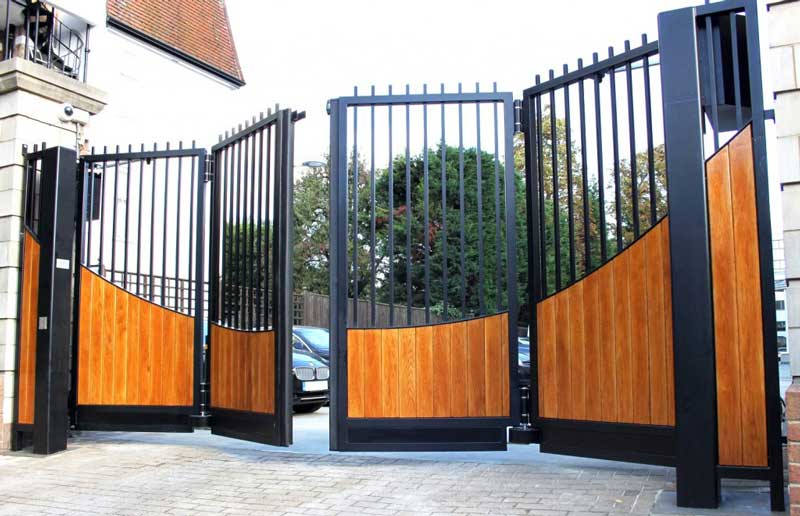 Iron Gate Installation